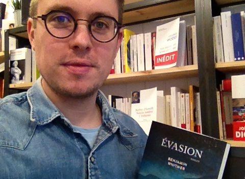 Portrait de Guillaume Giard de la librairie Metropolis