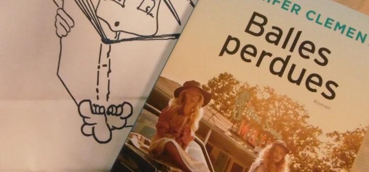 Montage photo pour l'ouvrage Balles perdues de Jennifer Clement