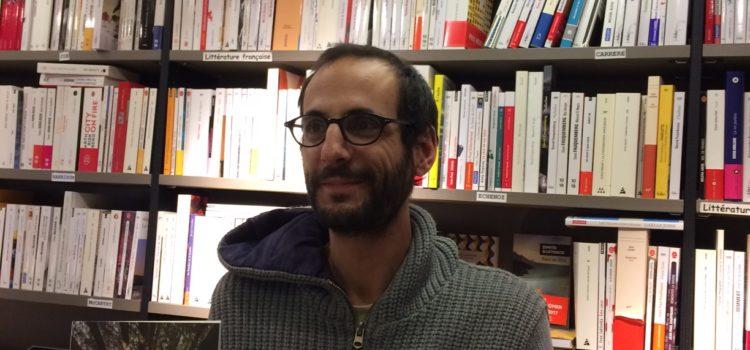 Portrait de Raphaël Naklé de la Librairie Le Détour