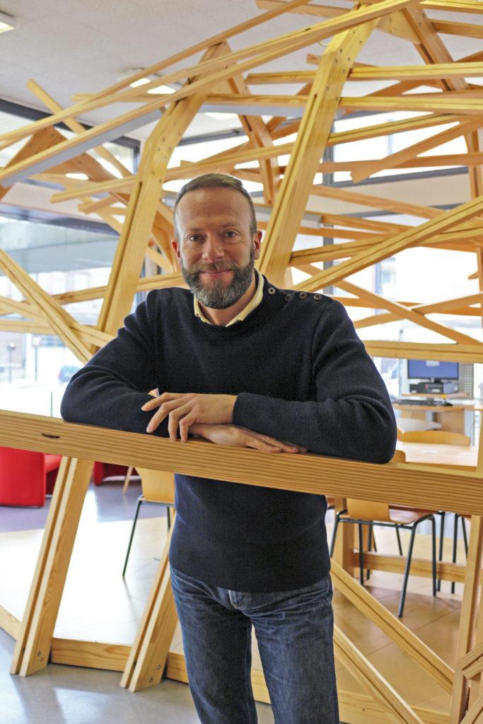 Photo de Dominique Rouet, directeur de la lecture publique du Havre