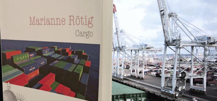 Montage photo de Dominique Panchèvre pour l'ouvrage Cargo de Marianne Rötig