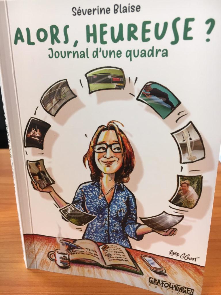 couverture journal d'une quadra