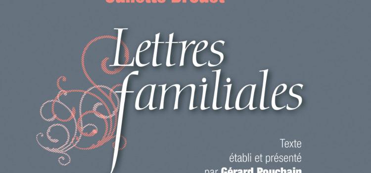 couverture lettres familiales