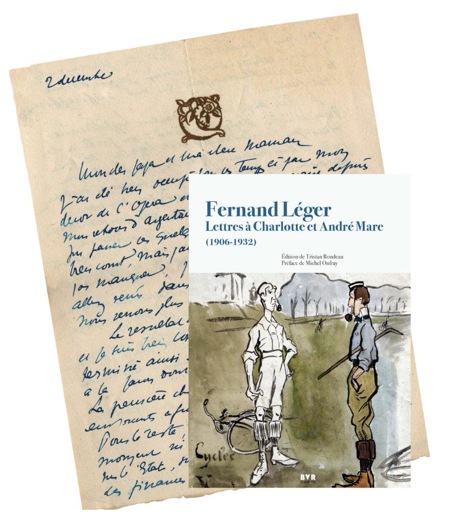 Lettre de Fernand Léger à André et Charlotte Mare