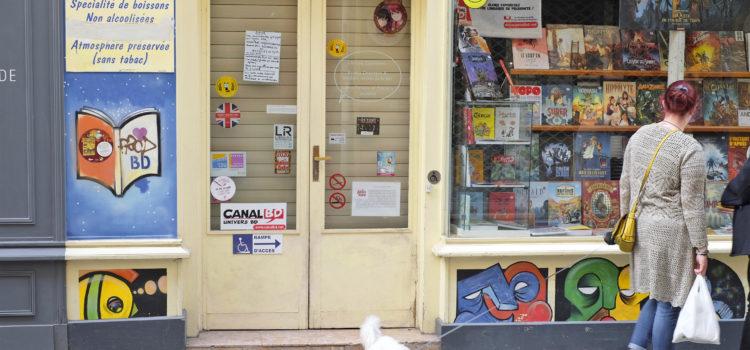 [Lieux] Coronavirus – Les librairies durement touchées