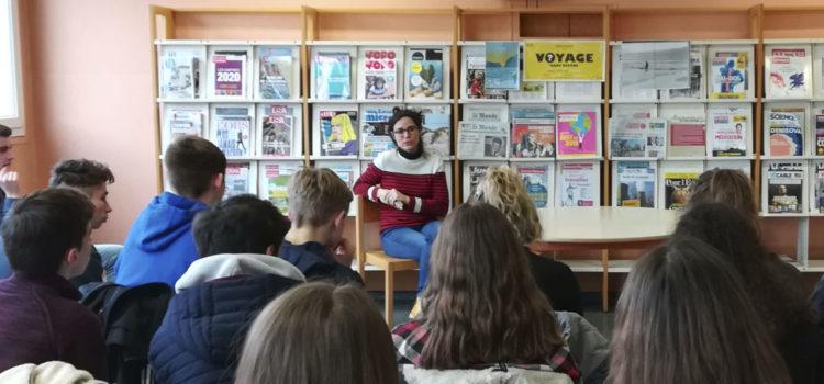 [Entretien] Sophie Le Goïc, professeur de lettres à Alençon pour le dossier «Bonnes nouvelles pour l'écriture»